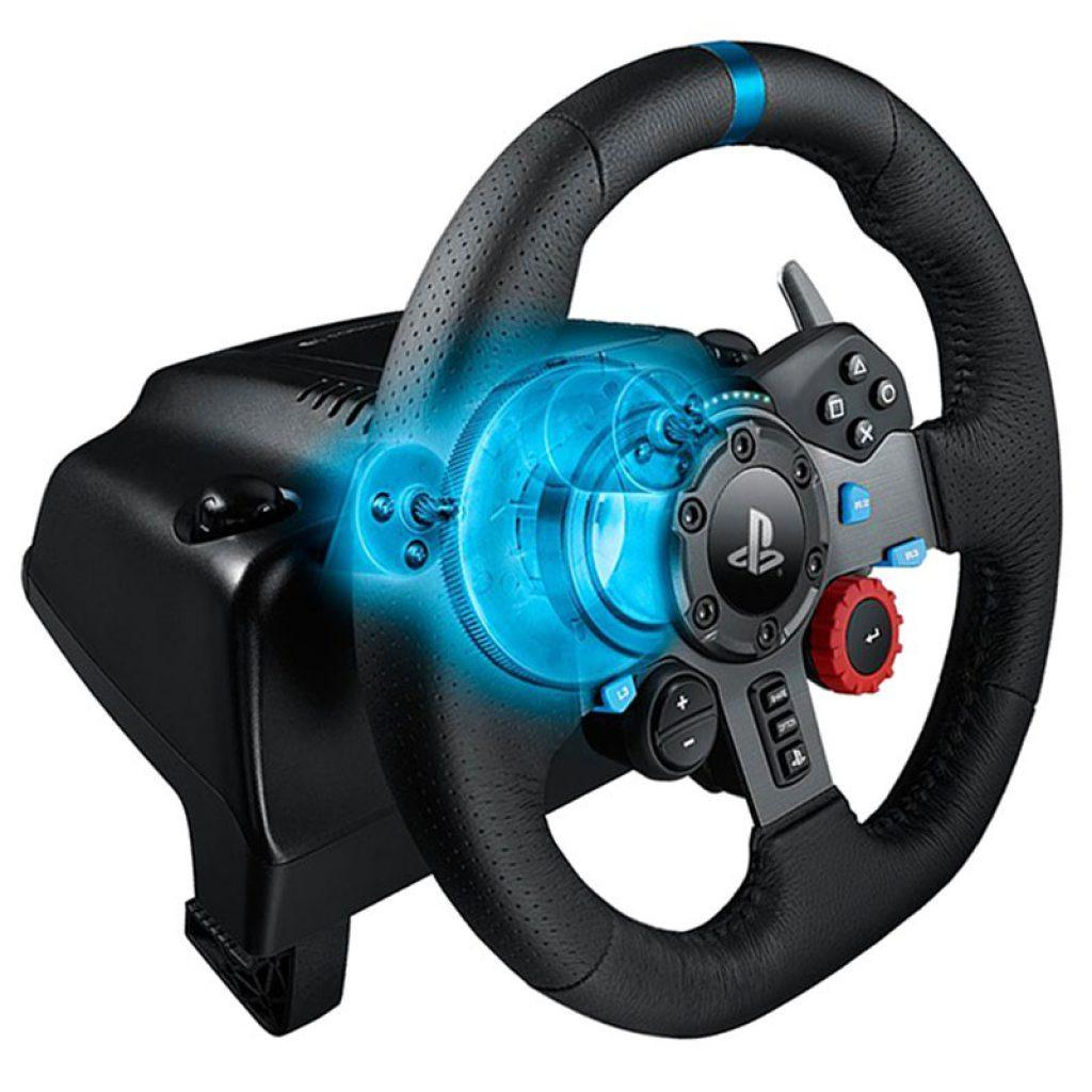 Logitech G29 Driving Force force feedback game stuur