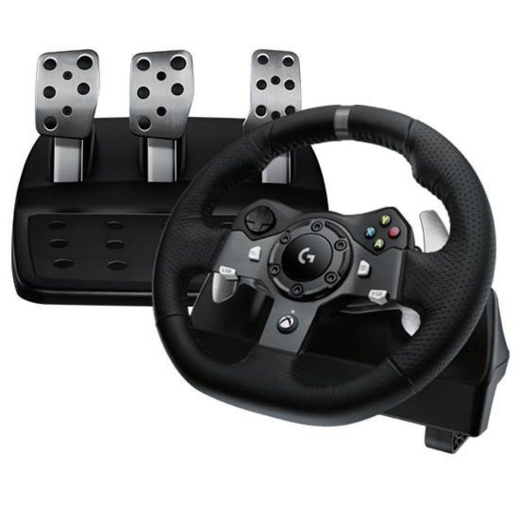 Logitech G920 Driving Force game racing wheel