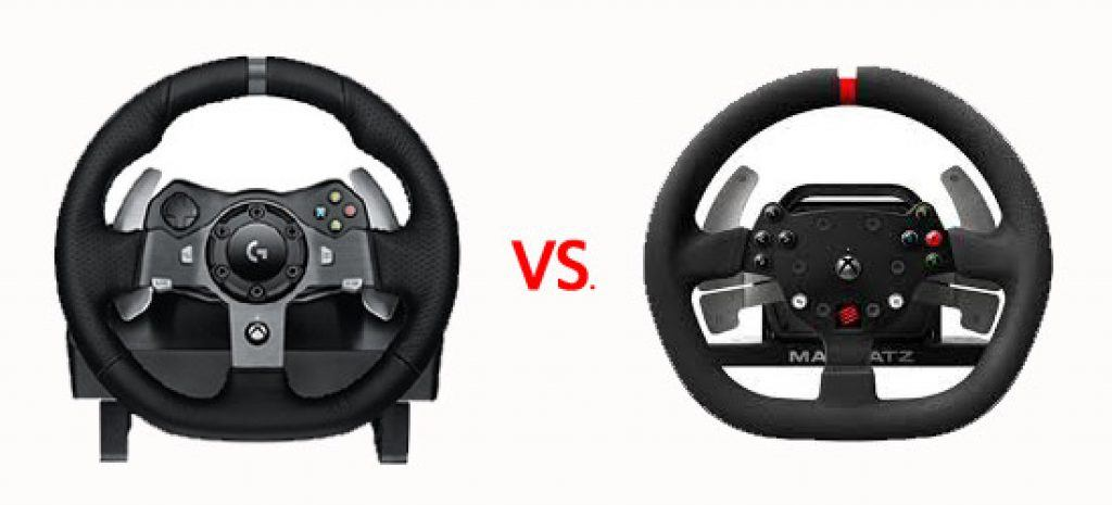 Logitech G920 vs Mad Catz game racestuur