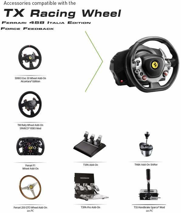 beste racestuur thrustmaster tx ferrari 458 italia review
