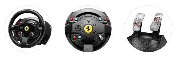 game stuur Thrustmaster T300 Ferrari GTE review
