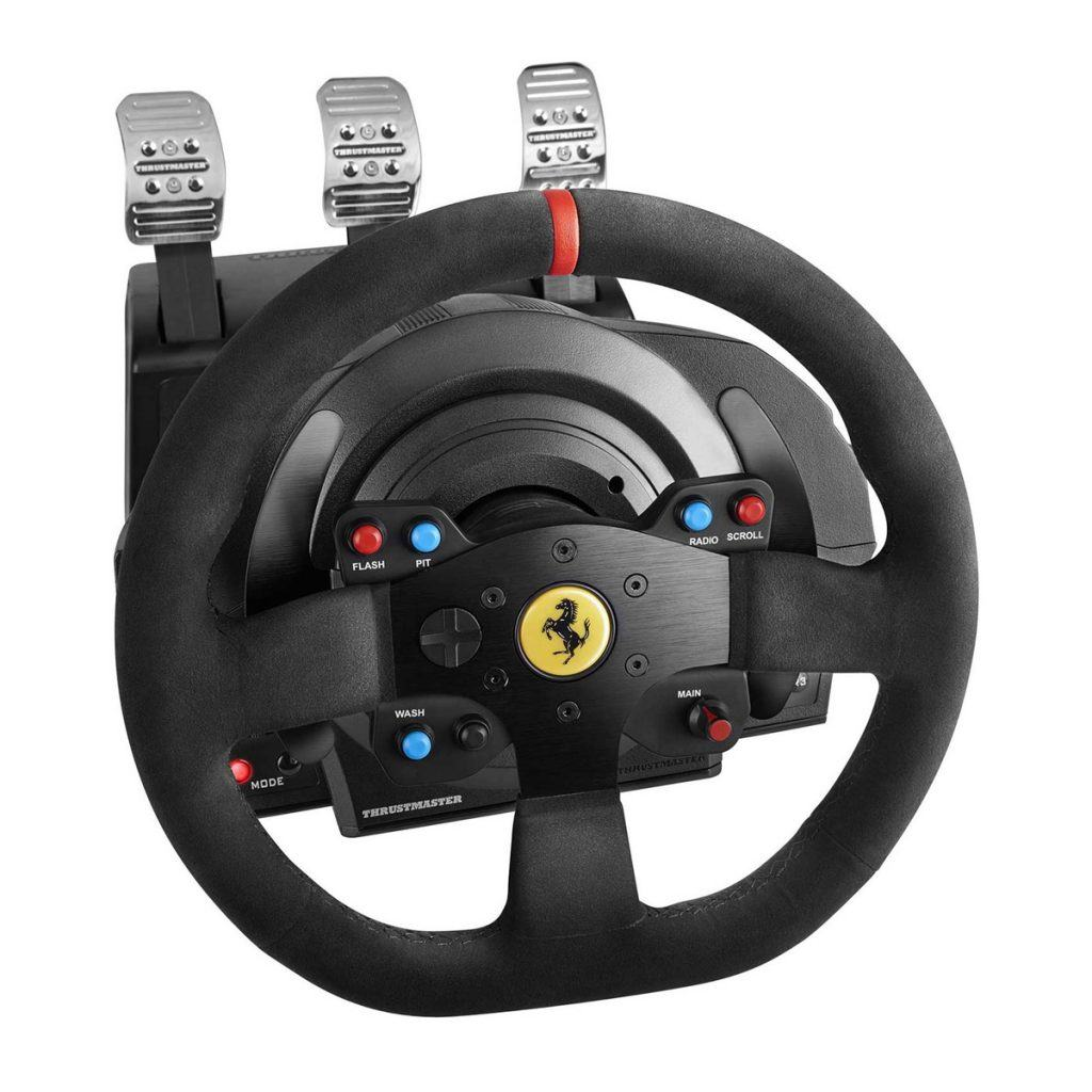 gaming stuur Thrustmaster T300 Ferrari GTE review