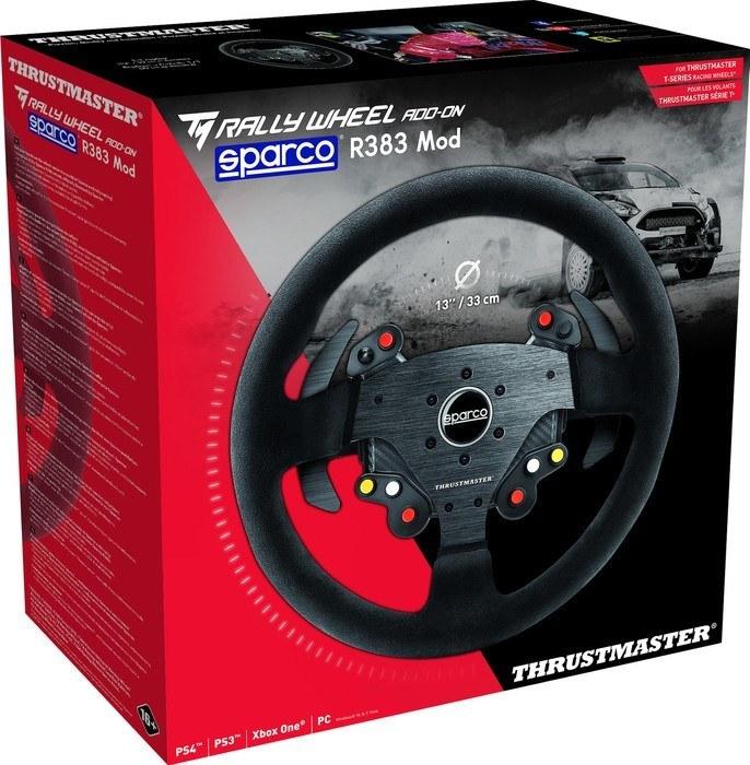 racestuur thrustmaster tm rally wheel sparco r383 mod kopen