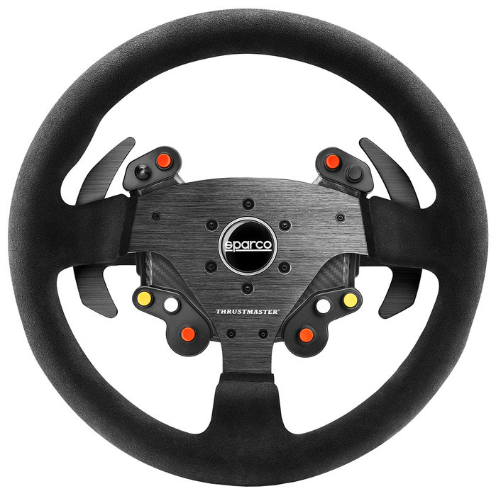 review thrustmaster tm rally wheel sparco r383 mod goedkoopste racestuur