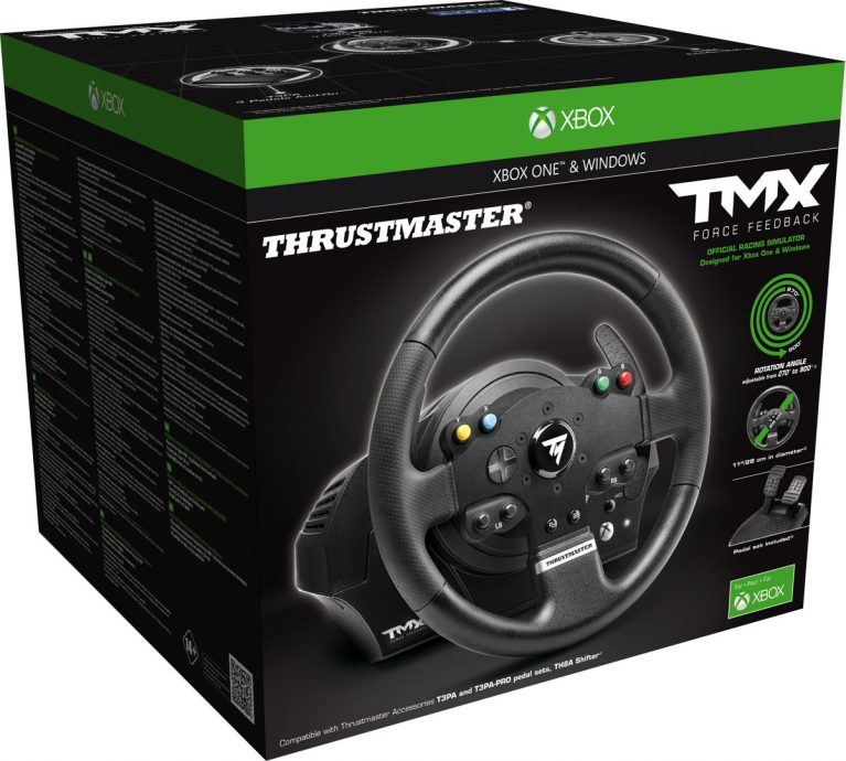 review thrustmaster tmx force feedback racestuur